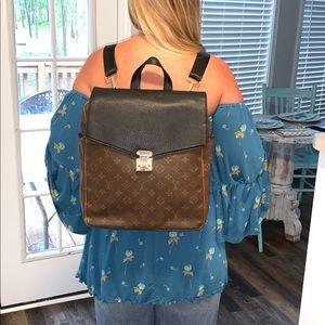 Louis Vuitton Marceau GM Customized Backpack